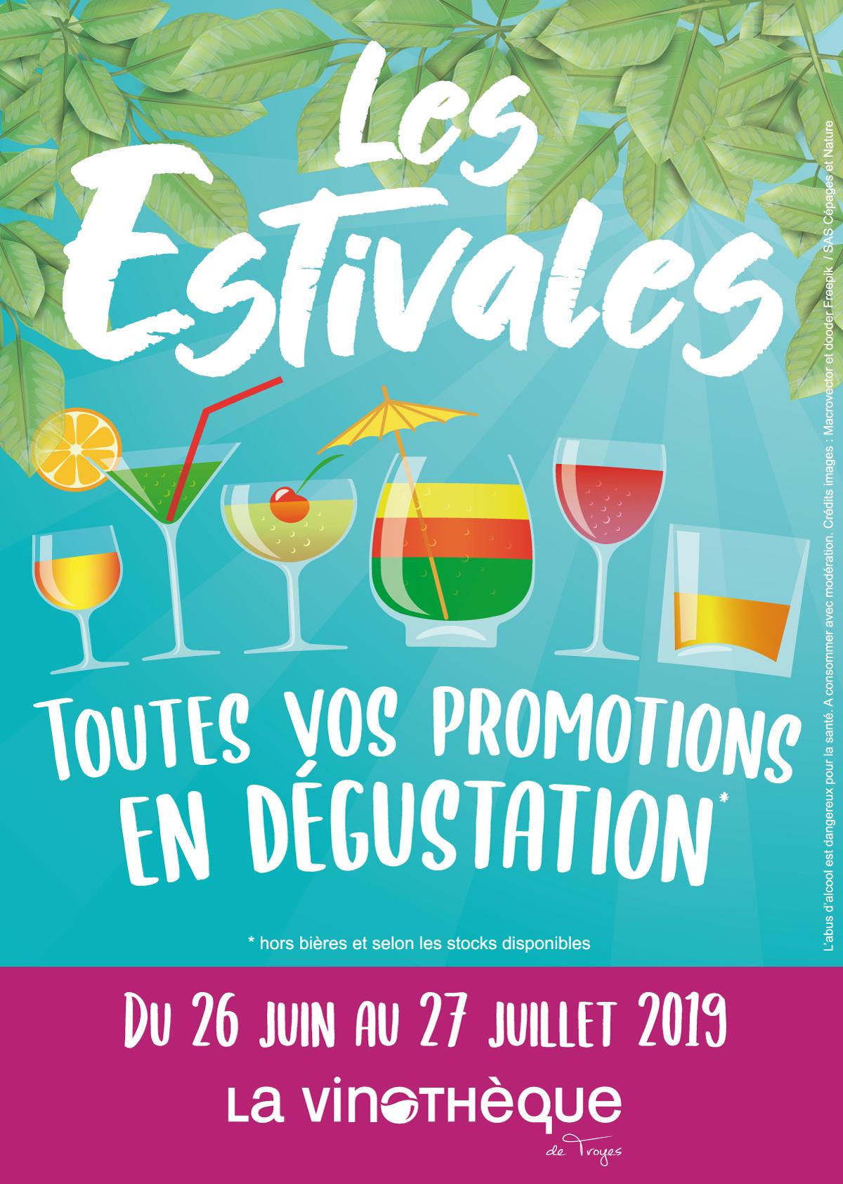 Les Estivales de la Vinothèque de Troyes